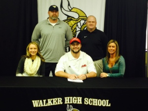 Austin Mansell signed to play with Jacksonville State